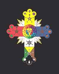 Rosicrucian books poster hermetic cross mozeypictures Image collections